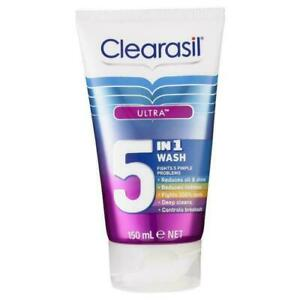 Clearasil Ultra 5 in 1 Wash 150mL