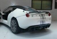 G LGB 1:24 Scale Lotus Evora S Matt White Satin Motormax Diecast Model Car 79313