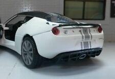 G LGB 1:24 Escala Lotus Evora S BLANCO MATE SATINADO Motormax