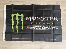 Monster Energy Nascar Cup Flag Banner Brand New