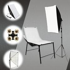 """20""""x 27.5"""" Photo Studio Lighting Softbox + 4 in1 E27 Socket Lamp Head Holder Kit"""
