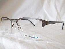 VAN HEUSEN STUDIO BIG MAN FIT EYE GLASSES FRAME S364 GUNMETAL 53-21-145 NEW AUTH