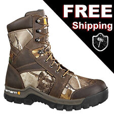 Carhartt Brown Camouflage 8-inch Boot 8M 8 Medium CMF8379 Composite Toe WorkBoot