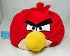 "Angry Birds Red Pillow Plush Micro bead Bean Bag 13""x14"""