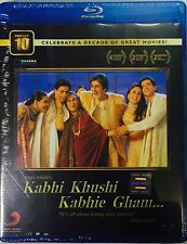 Kabhi Khushi Kabhie Gham Bluray - Shahrukh Khan , Hrithik - Hindi Movie Blu-ray
