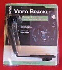 Sima Video Bracket NEW with 2 Accessory Mounts Model SVB-1