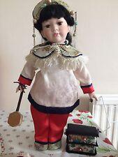 Muñeca De Porcelana Oriental
