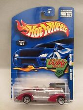 Hot Wheels  2002-175  Auburn  852  Silver / Red   1:64 scale  NOC  (12)  55060