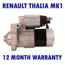 Renault Thalia MK1 Mk i 1.5 Dci 2001 2002 2003 2004-2015 Motor de Arranque Rmfd
