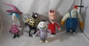 Vintage 1990s Hasbro Lot Nightmare Before Christmas Action Figures Walt Disney
