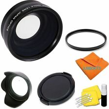Wide Angle Macro Lens +UV FILTER +HOOD+CAP CANON t2i xt t3 t3i t4 for 18-55