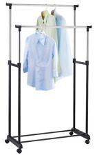 Garderobenständer Rollgarderobe Garderobe Kleiderständer mit 4 Rollen