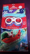HALLMARK NORTHPOLE POLAR EXPLORER MAP WITH 3-D GOGGLES, ACTIVITIES & STICKERS