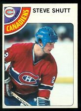 1978 79 OPC O PEE CHEE 170 STEVE SHUTT NM MONTREAL CANADIENS HOCKEY CARD