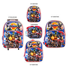 Avengers Endgame Backpack with Matching Lunch Box Combo Marvel Super Hero