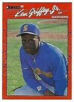 KEN GRIFFEY JR. 1990 Donruss Baseball #365
