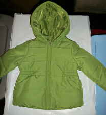 NWT Gymboree~~Cupcake Cutie~~Green Hooded Puffy Jacket   Size  3/4     Z2
