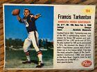 1962 Post Cereal Francis Tarkenton #184 Card