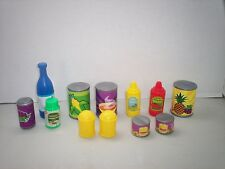 Pretend Play Kitchen Pantry Food Soup Vegetable Cans Toys Preschool Lot 2