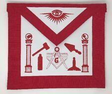 Freemason Master Mason Apron