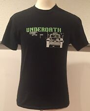 vtg Vintage 2005 Underoath Rock Metalcore Metal Band Black Tank T Shirt Medium