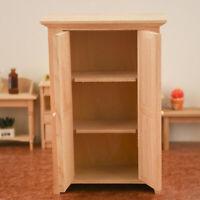 Dollhouse Miniature Meubles 1:12 Mini Armoire Poupée Maison Cuisine Décor