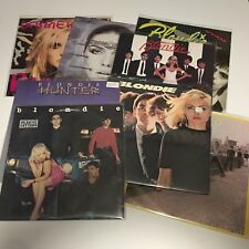 BLONDIE/DEBBIE HARRY LOT OF 8 STUDIO ALBUMS Chrysalis Promos & Sealed Copies