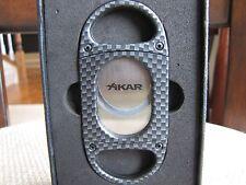 Xikar X8 Cigar Cutter - Carbon Fiber Look 208CF - New
