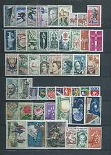 FRANCE LUXE  ANNEE  COMPLETE 1962  DU  N° 1325  A 1367  NEUFS  **