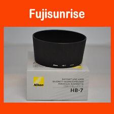 Original Nuevo Nikon HB-7 Parasol de bayoneta AF Zoom-Nikkor 80-200mm f/2.8 D ED