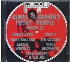 JAMES BROWN'S FUNKY PEOPLE PART 2 + BONUS TRACK CD SEALED 1988 ITALIA