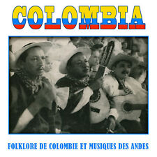 CD Colombia, folklore de Colombie et musique des Andes