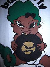 BORN DIRTY MUZIK Atlanta rap T shirt XL hip hop 2040 Shawty baby logo Blohka OG