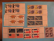 LOT US Plate Blocks and Souviner Sheets Some High Value