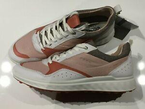 Ecco Golf S-Casual Damen Golfschuhe white/apricot Gr. 39