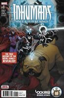 Inhumans Comic Issue 1 Once And Future Kings Modern Age First Print 2017 Priest