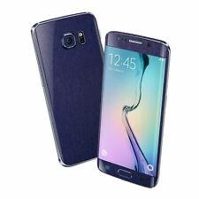 3d Brushed Metal Skin Wrap Sticker Decal Protector für Samsung Galaxy s6 Kante