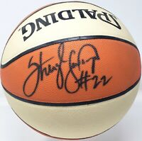 "SHERYL SWOOPES Signed WNBA Basketball ""HOUSTON COMETS"" BAS #Z46183"