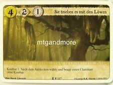A Game of Thrones LCG - 1x Sie trieben es mit den Löwen  #117 - Eine Düstere Bot