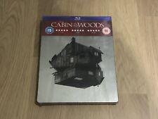 Cabin In The Woods HMV Exclusive Blu-ray Steelbook Rare OOP - New HMV