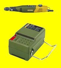 Auricular de 60/EF paquete PROXXON MicroMot de 28512 + 28706 NG2 / s de alimentación 230/12 voltios