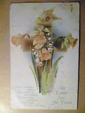 1919 Used Greetings Postcard- ALL EASTER JOY BE YOURS, Raphael Tuck & Sons+STAMP