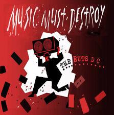 "Ruts DC : Music Must Destroy VINYL 12"" Album 2 discs (2016) ***NEW***"