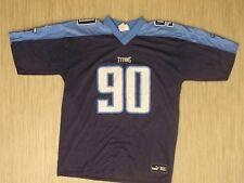 Tennessee Titans Jevon Kearse #90 Blue Jersey Men's Size Xl Nfl Football Shirt
