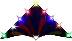 Hengda kite-LED Lights for Kite,36 Lamp,10 Clips,5 Colorful Color