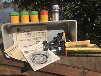 KODAK GE FUJI AGJO EDNALITE Vintage Canisters Spools Pamphlets Brush Isopan Lot