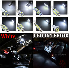 Newest LED Car Interior Light Bulb Package Kit For Vauxhall Astra G MK4 -- White