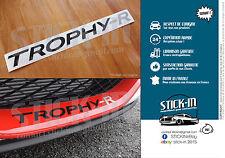 Sticker Autocollant Renault Sport Megane 3 RS TROPHY-R 275 Parechoc Front Bumper