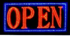Open Sign Vivid Attention Catcher Animated Led Neon Business Light Classic Look