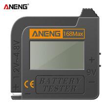 ANENG 168Max Digital Lithium Battery Tester Checker AAA AA Button Cell Analyzer